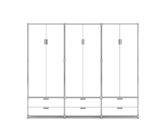 Inline Coat Rack 22930 by System 180 | Freestanding wardrobes