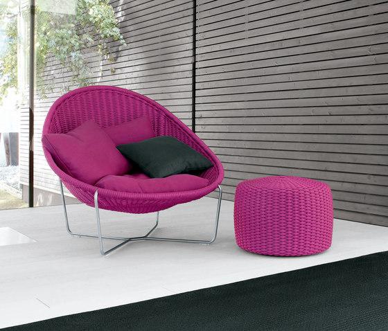 Nido by Paola Lenti | Garden armchairs