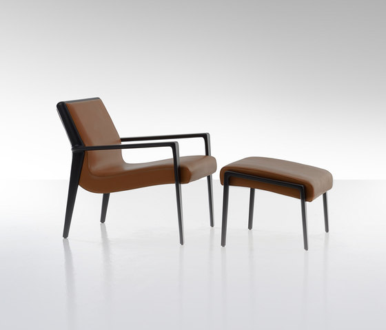 Nairobi Armchair Lounge by Fendi Casa | Lounge chairs