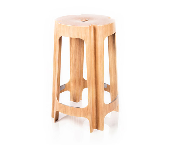 Bloom Bar Low di Riga Chair | Sgabelli bar