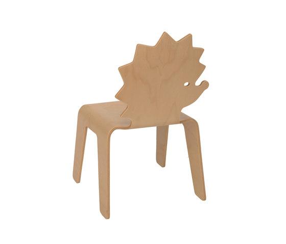Chair Creatures hedgehog de Riga Chair | Chaises enfants
