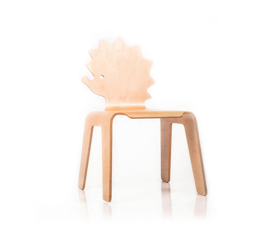 Chair Creatures hedgehog de Riga Chair | Chaises enfants