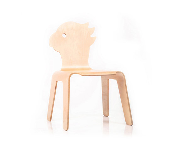 Chair Creatures parrot by Riga Chair | Kids chairs