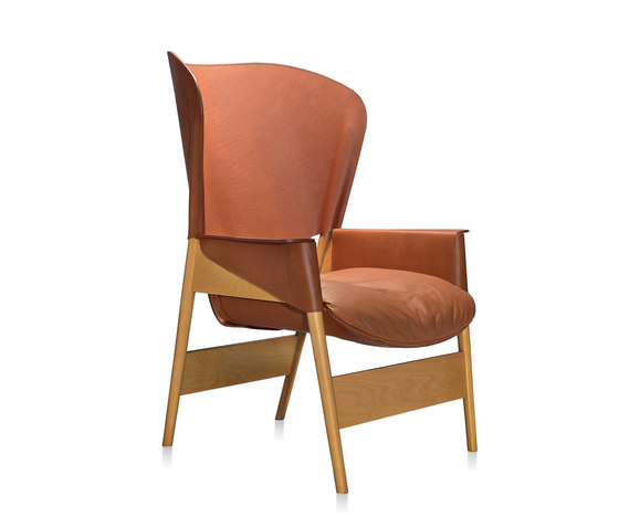 Heta bergère by Frag | Lounge chairs