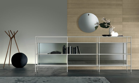 Wind by Rimadesio | Shelving