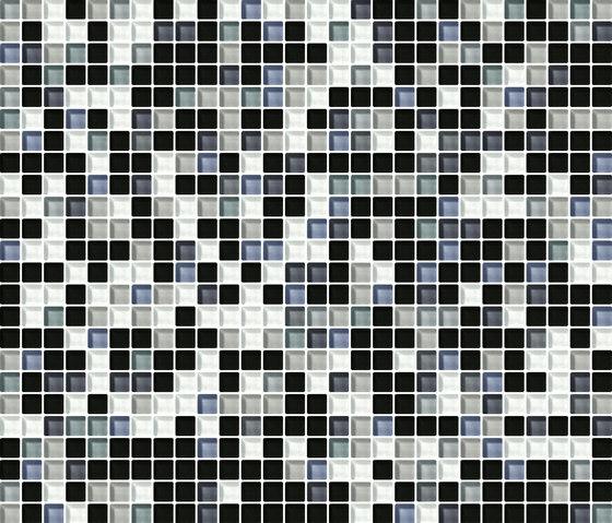Cromie 10x10 Acciaio G Mix 4 by Mosaico+ | Glass mosaics