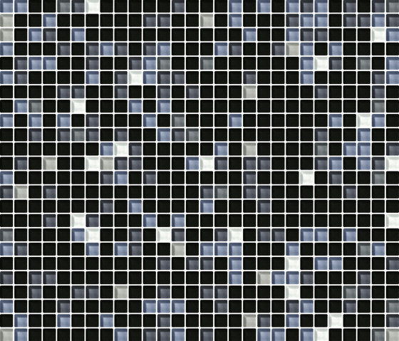 Cromie 10x10 Acciaio G Mix 7 by Mosaico+ | Glass mosaics