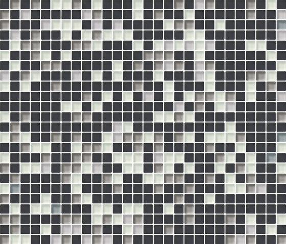 Cromie 10x10 Cenere M Mix 7 by Mosaico+ | Glass mosaics
