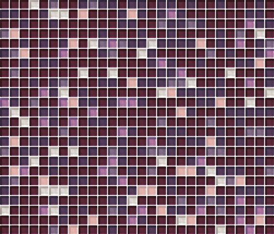 Cromie 10x10 Porpora G Mix 7 by Mosaico+ | Glass mosaics