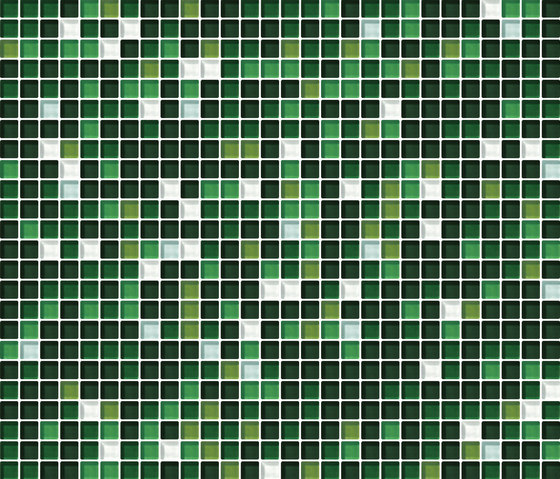 Cromie 10x10 Muschio G Mix 7 de Mosaico+ | Mosaïques verre