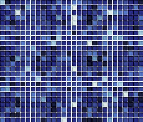 Cromie 10x10 Zaffiro G Mix 7 by Mosaico+ | Glass mosaics