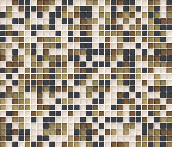 Cromie 10x10 Senape M Mix 4 di Mosaico+ | Mosaici