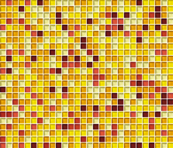 Cromie 10x10 Sole G Mix 1 by Mosaico+ | Glass mosaics