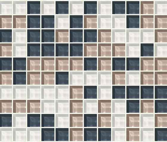 Cromie 23x23 Norcia by Mosaico+ | Glass mosaics