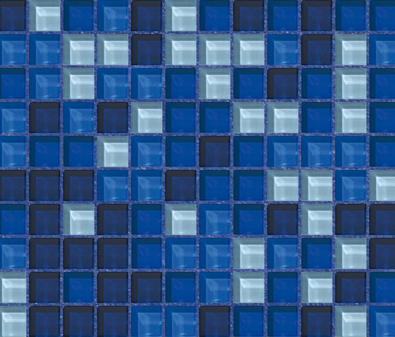 Cromie 23x23 Taormina by Mosaico+ | Glass mosaics
