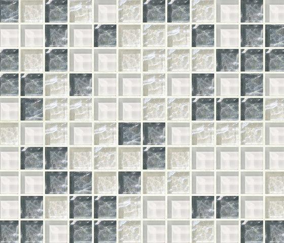 Cromie 23x23 Merano by Mosaico+ | Glass mosaics