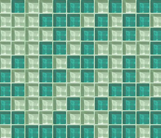 Cromie 23x23 Sirmione by Mosaico+ | Glass mosaics