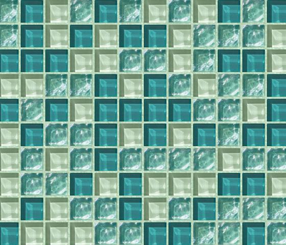 Cromie 23x23 Rapallo by Mosaico+ | Glass mosaics