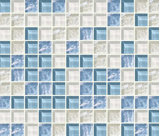 Cromie 23x23 Portofino by Mosaico+ | Glass mosaics