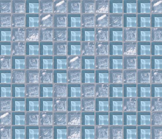 Cromie 23x23 Tropea by Mosaico+ | Glass mosaics