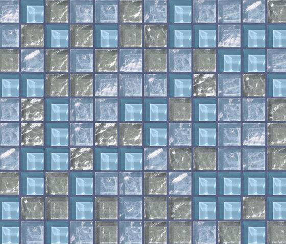 Cromie 23x23 Sorrento by Mosaico+ | Glass mosaics