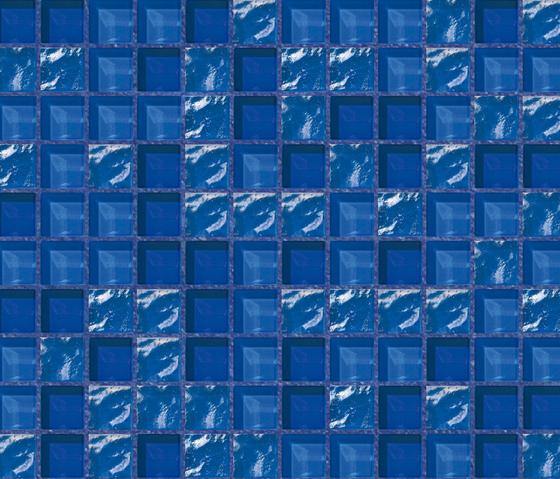 Cromie 23x23 Riomaggiore de Mosaico+ | Mosaïques verre