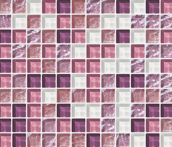 Cromie 23x23 Noto di Mosaico+ | Mosaici vetro