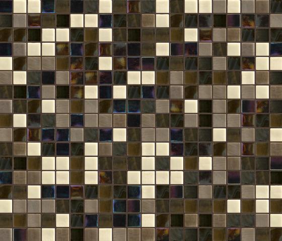 Cromie 23x23 Mantova by Mosaico+ | Glass mosaics