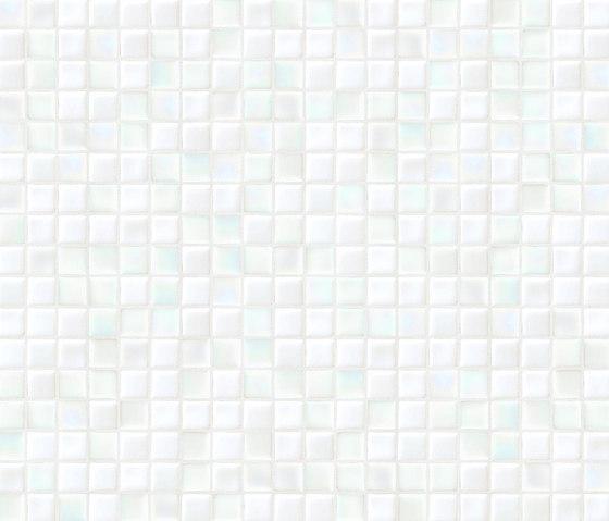 Cromie 15x15 Carrara by Mosaico+ | Glass mosaics