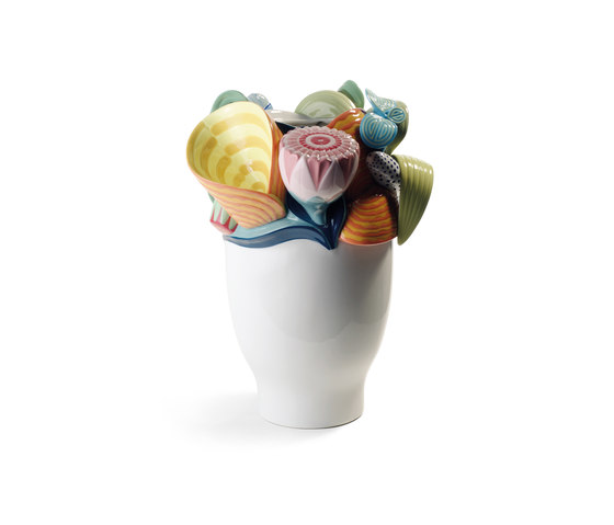 Naturofantastic - Small vase (multicolor) by Lladró | Vases