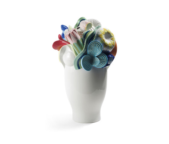Naturofantastic - Large vase (multicolor) by Lladró | Vases