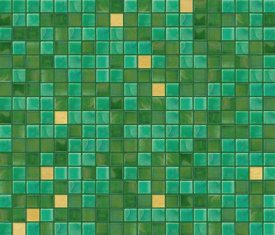 Cromie 15x15 Prato Oro by Mosaico+ | Glass mosaics