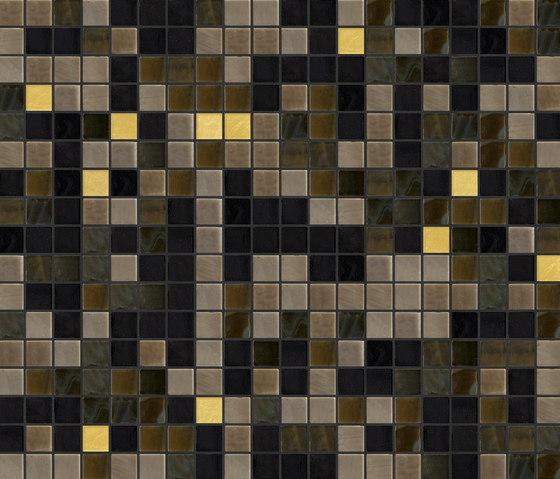 Cromie 15x15 Siena Oro de Mosaico+ | Mosaïques verre
