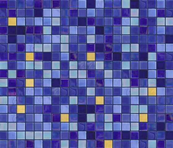 Cromie 15x15 Lecce Oro de Mosaico+ | Mosaïques verre