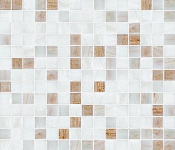 Cromie 20x20 Lagos by Mosaico+ | Glass mosaics