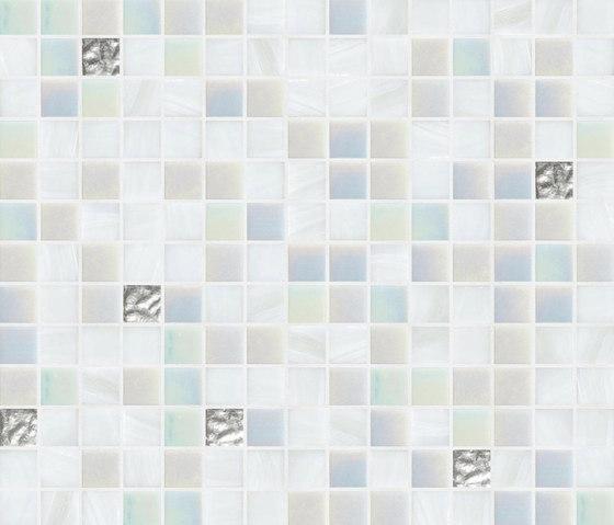 Cromie 20x20 Karachi Oro by Mosaico+ | Glass mosaics