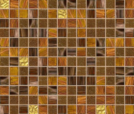 Cromie 20x20 Zanzibar Oro di Mosaico+ | Mosaici vetro