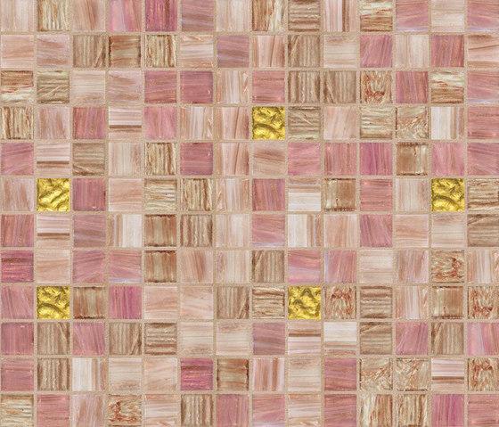 Cromie 20x20 Jakarta Oro di Mosaico+ | Mosaici vetro