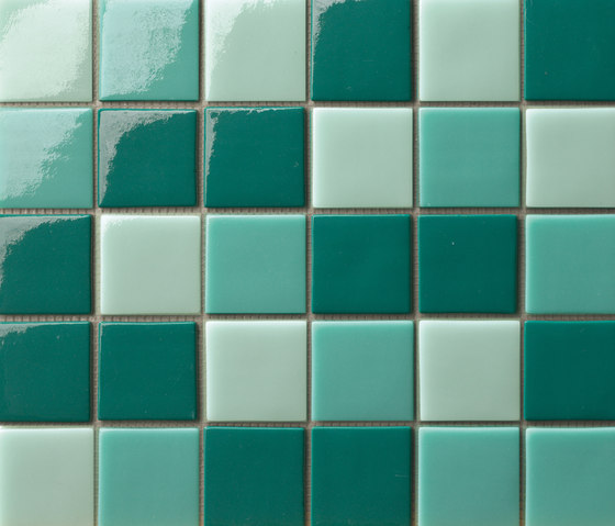 Cromie 50x50 Mix Tormalina by Mosaico+ | Glass mosaics