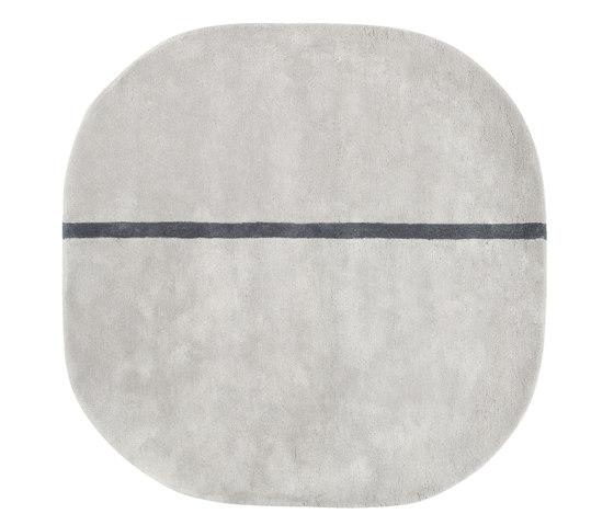 Oona 140 xx 140 grey by Normann Copenhagen | Rugs / Designer rugs