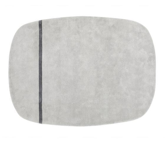 Oona 175 x 240 grey von Normann Copenhagen | Formatteppiche / Designerteppiche