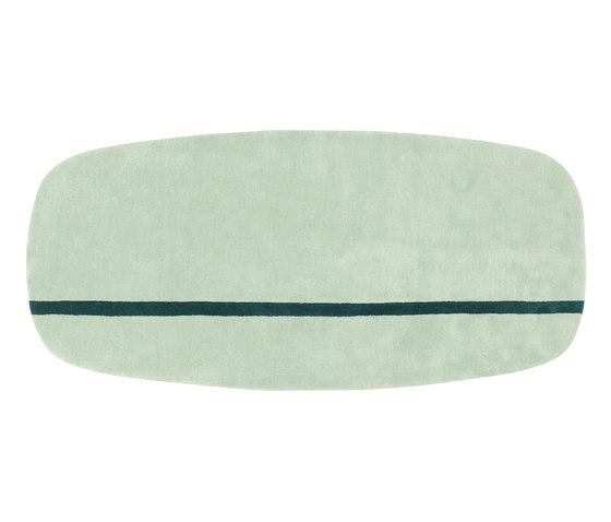 Oona 90 x 200 mint by Normann Copenhagen | Rugs / Designer rugs