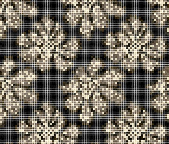 Decor 15x15 Dahlia Brown di Mosaico+ | Mosaici
