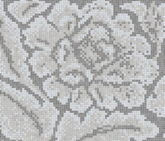 Decor 15x15 Lacquer Grey B by Mosaico+ | Glass mosaics