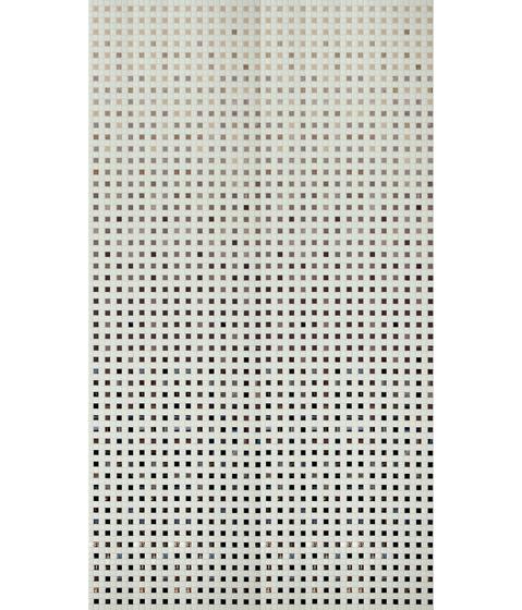 Decor 20x20 Trame Artico by Mosaico+ | Glass mosaics