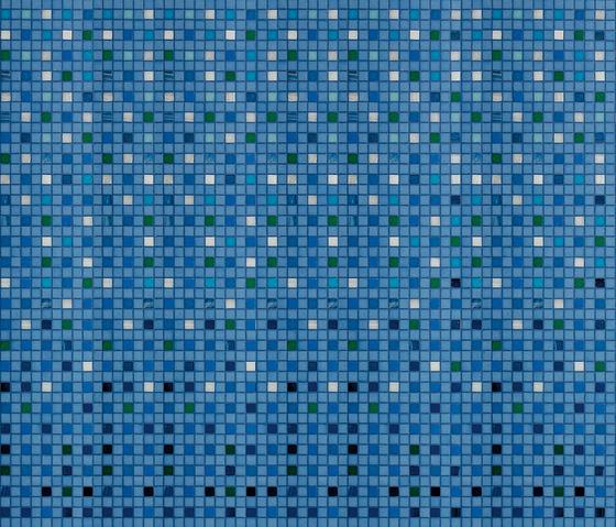 Decor 20x20 Trame Corrente by Mosaico+ | Mosaics