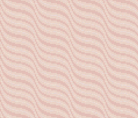 Decor 20x20 Satin Pink by Mosaico+ | Glass mosaics