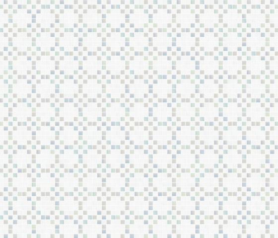 Decor 20x20 Mohair White by Mosaico+   Glass mosaics