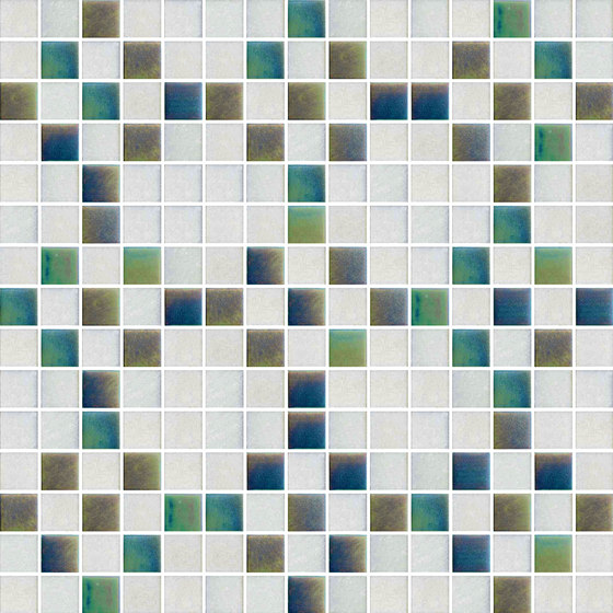 Decor New Classic | Mohair White 20x20 by Mosaico+ | Glass mosaics