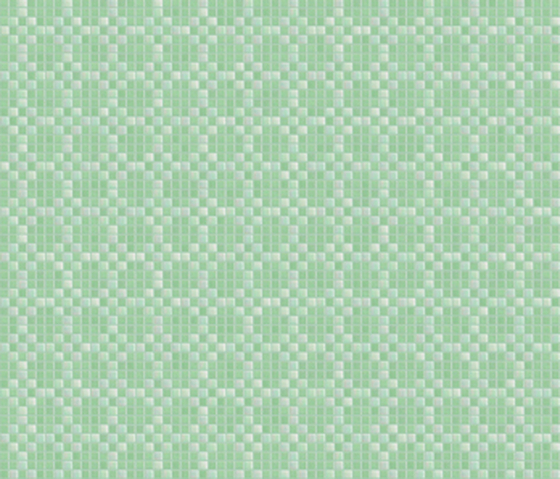 Decor 20x20 Mohair Green by Mosaico+ | Mosaics